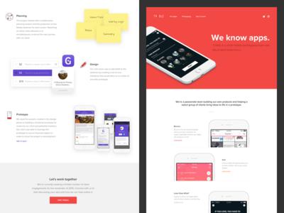 New Treble Website portfolio treble web ui design