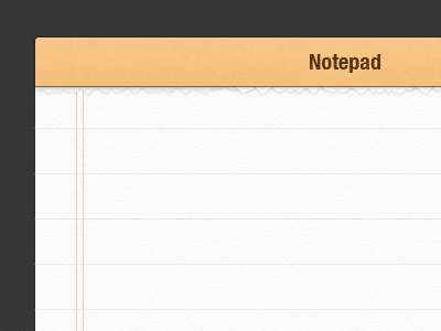 Notepad - Freebie PSD web design ui freebie psd notepad
