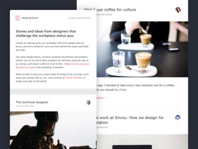 Design @ Envoy Newsletter
