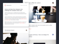 Design @ Envoy Newsletter