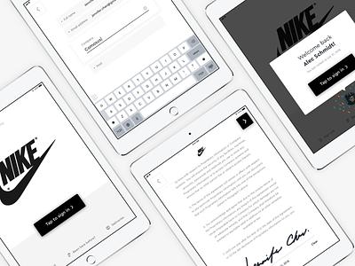 Visitors Kiosk v3 redesign ux kiosk ipad ios ui design