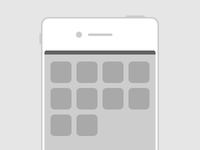 Flat iPhone - Freebie