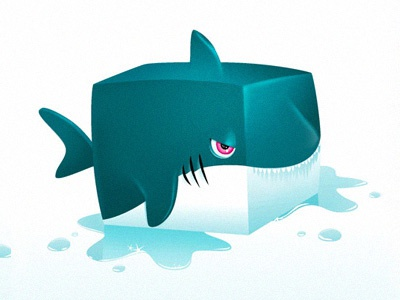 Square Shark illustration