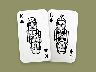 My fitness playing cards