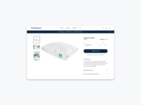 E commerce page
