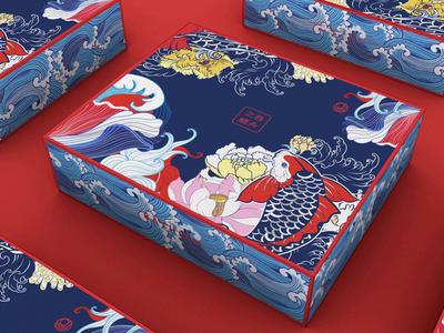 """""""TUN ZHOU ZHI LI""""Chinese style packaging"""