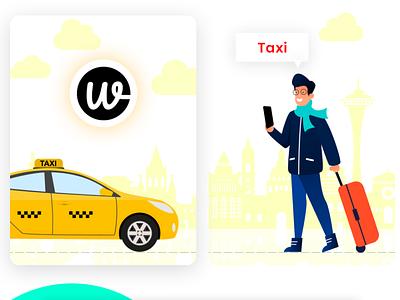 Wooberly - Uber Clone ui app design