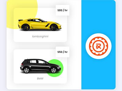 RentALL Cars ui app design