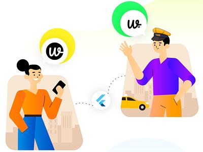 Wooberly ui app design