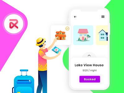 RentALL app ui design
