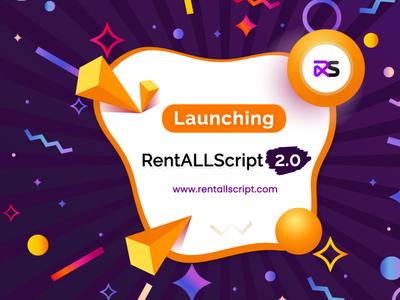 RentALLScript v2 0 mobile vector illustration app ui design