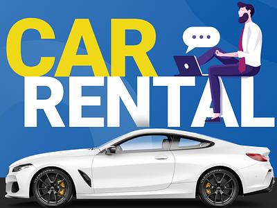 RentALL Cars carrentalscript branding app design