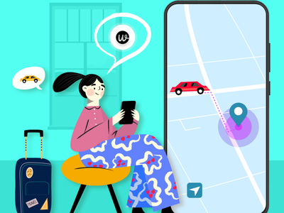 Create an amazing taxi booking experience for your users ux branding ui app