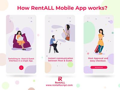 RentALLScript - Airbnb clone for Mobile app carrentalmarketplace bestairbnbclonescript bestairbnbclone airbnbclonescript airbnbclone