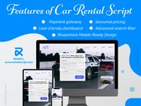 Features of car rental script