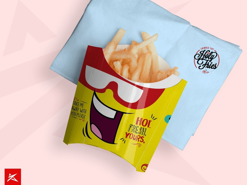 Fries Packet Design | Oiya