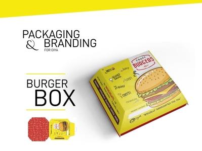 Oiya Burger Box Packaging
