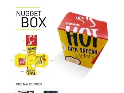 Oiya Nugget Box Packaging