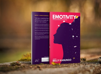 Book Cover Design for Emotivity (Belly Kanungo's First)