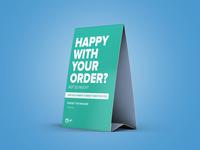 Oiya - Direct hitting to customer's review Table Top
