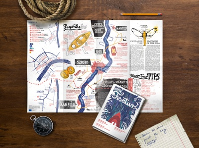 Rivertour map and guide