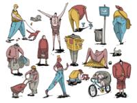 Random Urban Characters