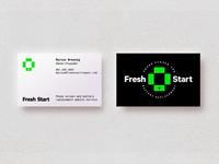 Fresh Start logo/business cards