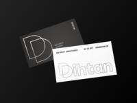 Dihtan Business Cards