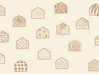 Julie Stuart Homes house pattern