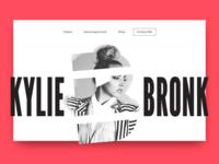 Kylie Bronk Website