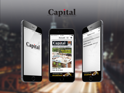 Capital publish comment now location user mobile screen ux ui news
