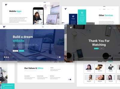 Website Design Keynote Template