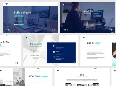 Website Design Powerpoint Template