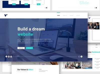 Website Design Google Slides