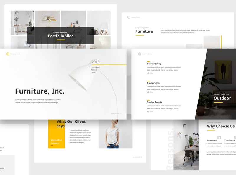 Furniture Keynote Presentation