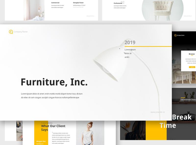Furniture Google Slides Presentation
