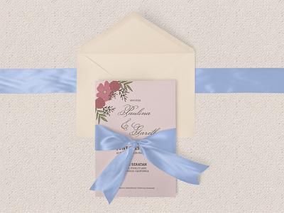 Wedding Invitation Template ceremony