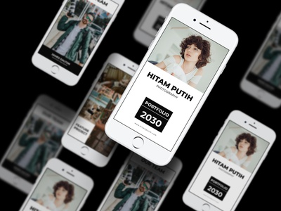 Hitam Putih Photography Instagram Stories Template marketing profile company template business corporate ig design banner post highlight stories instagram media social