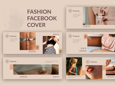 Fashion Facebook Cover web timeline template social poster modern media marketing market fb fashion facebook design cover banner advertising