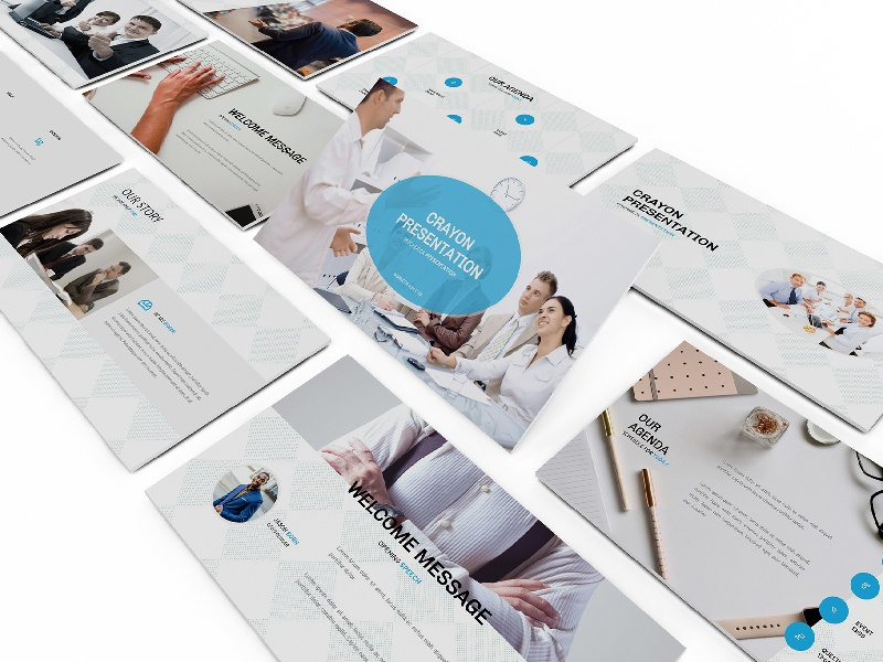 Pitch Deck Powerpoint Template by Giant Design on Dribbble