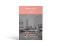 Interior Design Catalog Brochure