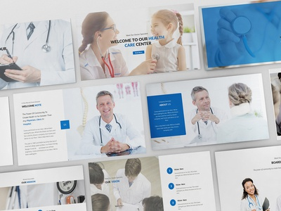 Medical and Health Care Powerpoint