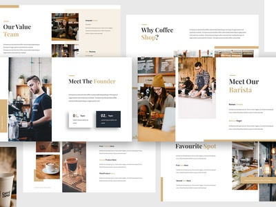 Coffee Shop Keynote Template