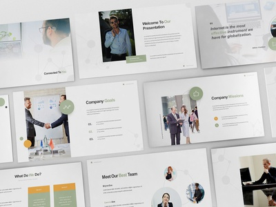 Internet Service Provider Powerpoint Template
