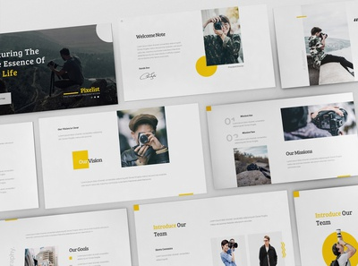 Pixelist - Photography Powerpoint Template
