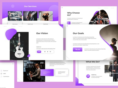 Chordia - Music Keynote Template