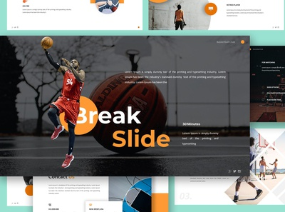 Basketball Club Google Slides