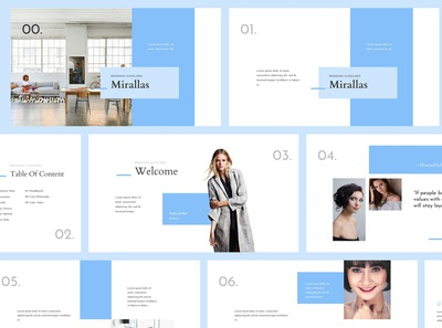 Mirallas Brand Guidelines Powerpoint