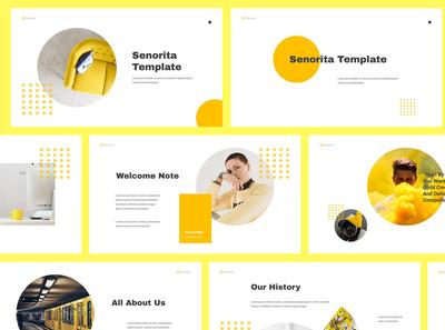 Senorita Brand Guideline Powerpoint