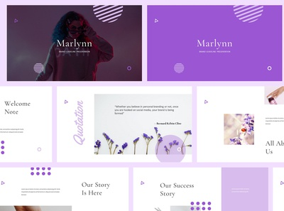 Marlynn Brand Guidelines Powerpoint